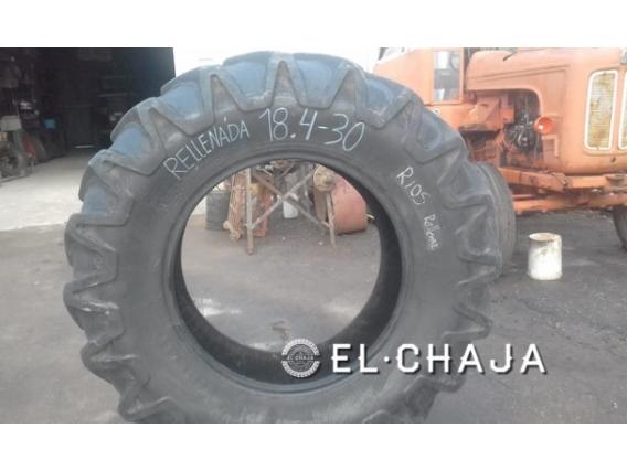Cubierta Agricola Tractor Pirelli 18-4-30 Rellenada