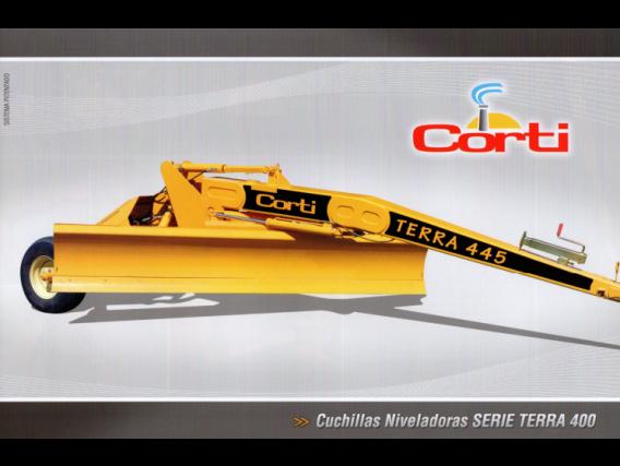 Cuchilla Niveladora Corti Serie Terra 400