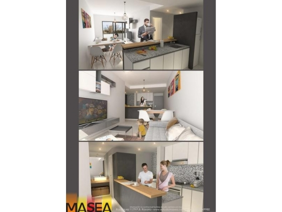Departamento 1 Dormitorio 41 M2 - Güemez 2678