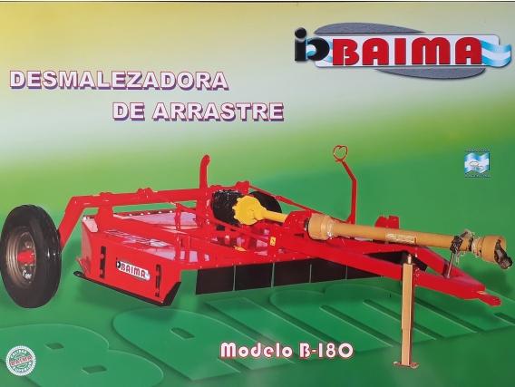 Desmalezadora De Arrastre B-180 Baima