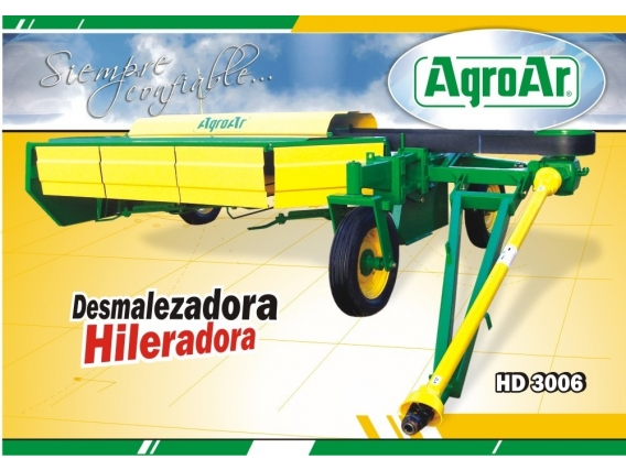 Desmalezadora Hileradora Agroar Hd 3006 - Gualeguaychu