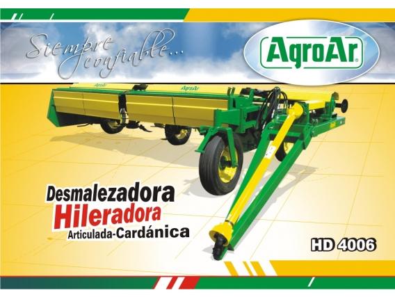 Desmalezadora Hileradora Agroar Hd4006