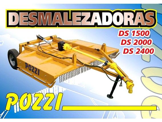 Desmalezadora Pozzi 1.50 Mts 3 Puntos