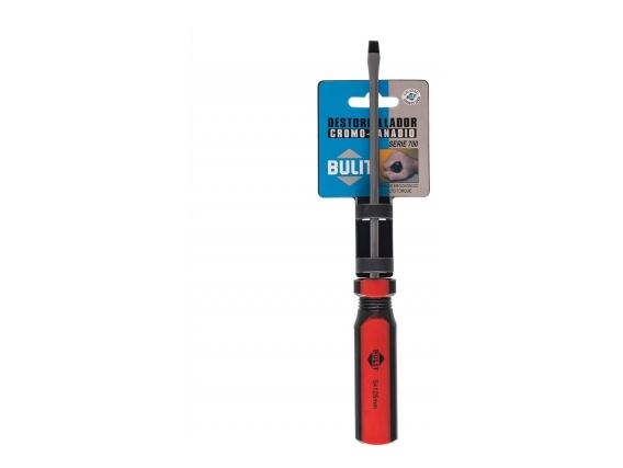 Destornillador Bulit Profesional Serie 700 Plano #5X125 mm