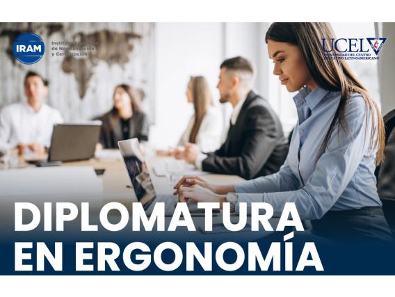 Diplomado En Ergonomía Ucel - Iram