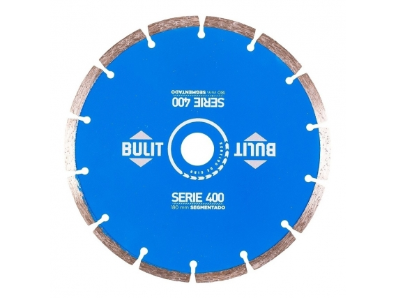 Disco Diamantado Bulit Para Amoladora S400 Segmentado - 180mm