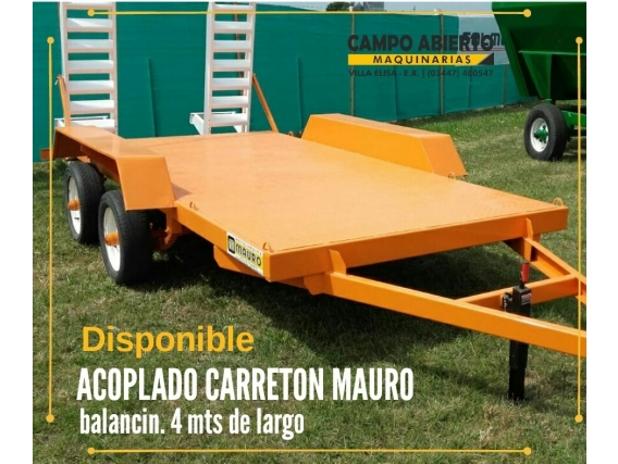 Disponible Acoplado Carretón Mauro Con Rampas