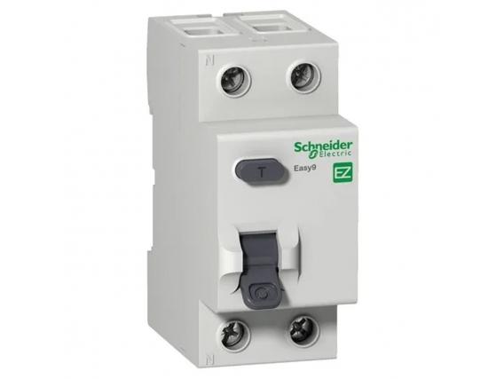 Disyuntor Diferencial Bipolar 25A 30Ma Schneider Easy9