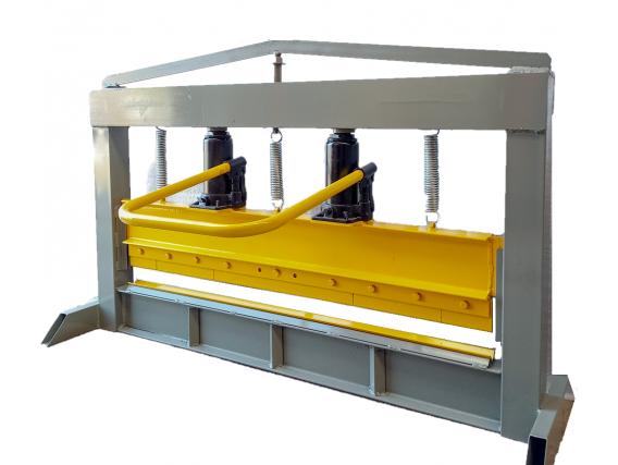 Dobladora Plegadora De Chapas Metalforte 1000Mm - 2 Mm
