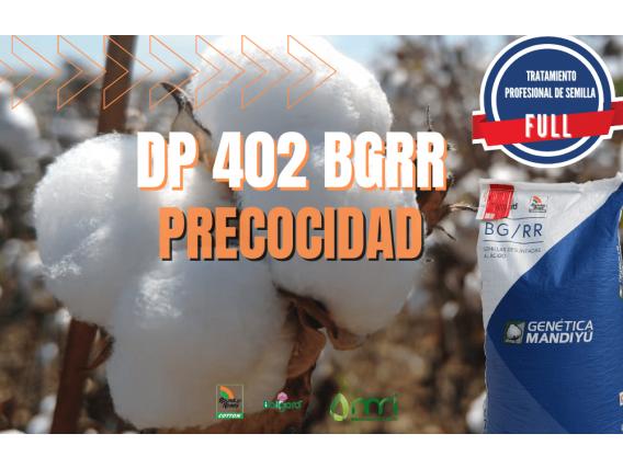 Semillas De Algodón DP 402 BGRR -Tratamiento Full