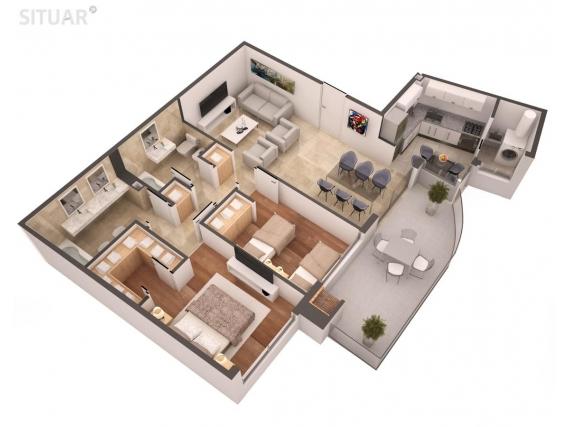 Dpto De 2 Dorm - En Venta - 85 M2 - Yerbal 681