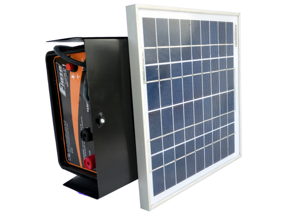 Electrificador / Boyero Solar Compacto 60 Kms.