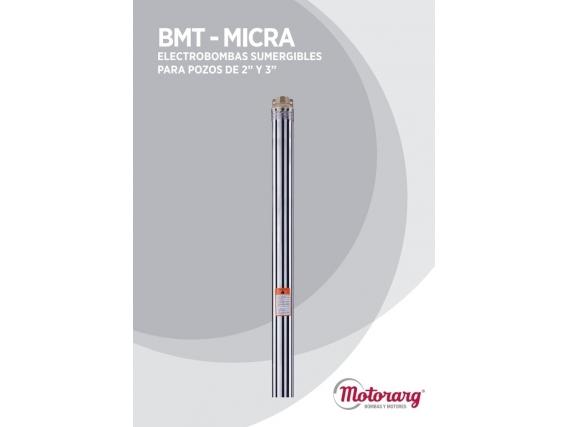 Electrobomba Sumergible Micra Monofásica