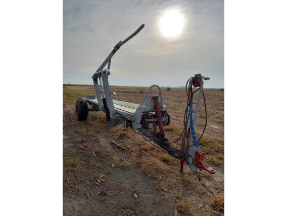 Elevador Y Transportador De 6 Rollos Barbuy. Hidraulico