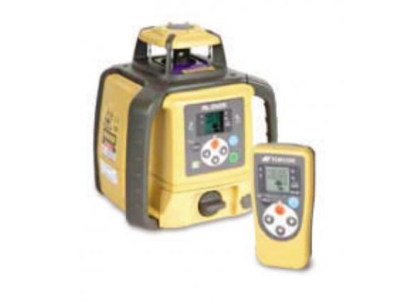 Emisor Láser Topcon L2 + Caja de control automática SAE con electroválvula y mástil eléctrico