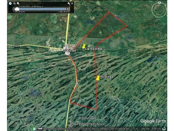 Entre Rios, Vendo Ceibas 630-690Has Ganaderas B/acceso