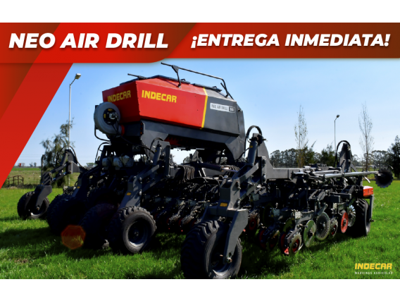 Sembradora Air Drill Neo Indecar 9Mts 49 A 17,5Cm Fino