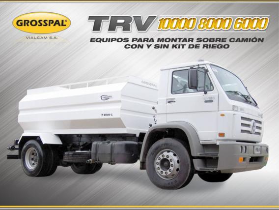 Equipo Para Montar Sobre Camión Grosspal Trv 6000