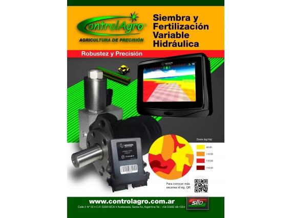 Equipo Siembra Y Fertilización Variable Hidráulica