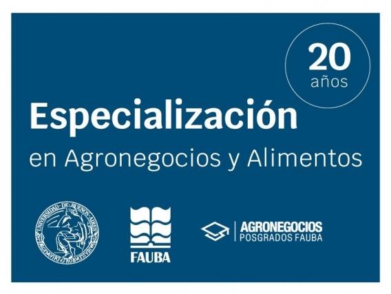 Especialización En Agronegocios Y Alimentos