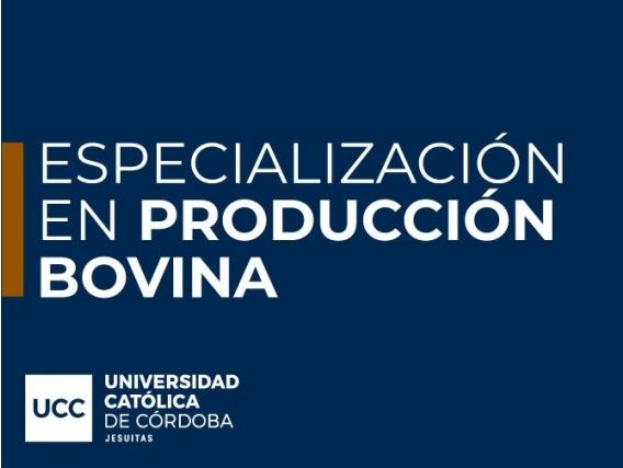Especialización En Producción Bovina