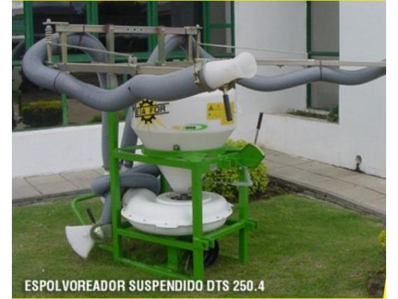 Espolvoreador Suspendido Metalfor DTS 250.4