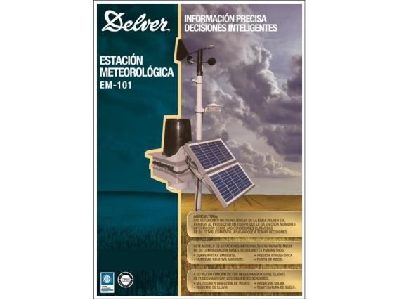 Estación Meteorológica Delver Em-101