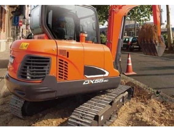 Excavadora Doosan Dx55-9C