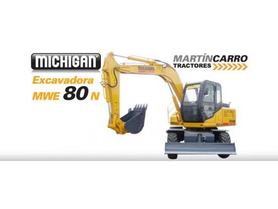 Excavadora Frontales Neumaticas Michigan Mwe 80