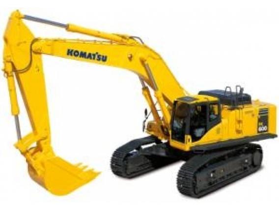 Excavadora Hidráulica Komatsu Pc600Lc-8