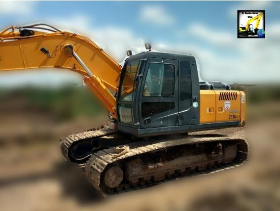 Excavadora Hyundai 210