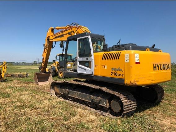 Excavadora Hyundai 210Lc-7
