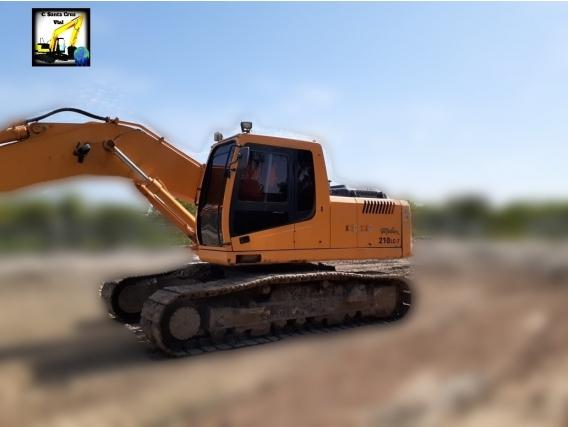 Excavadora Hyundai Robex 210 Lc-7