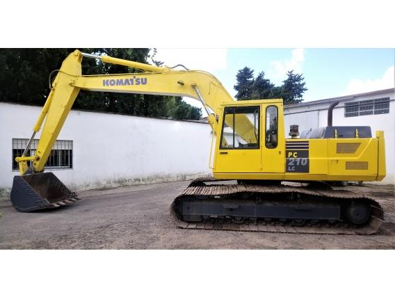 Excavadora Komatsu Pc-210 Lce