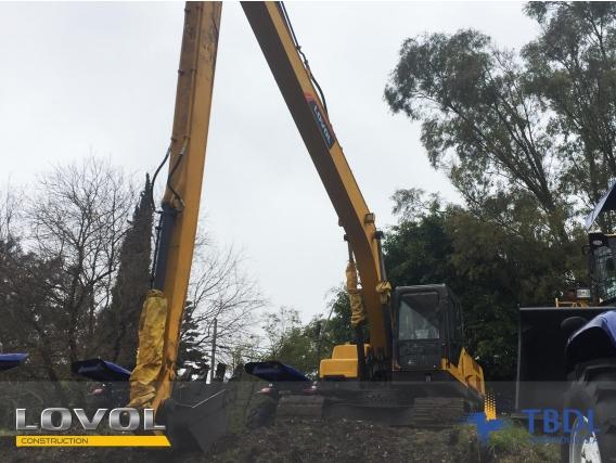 Excavadora Lovol Fr220D Brazo Largo