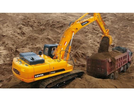 Excavadora Lovol Fr330