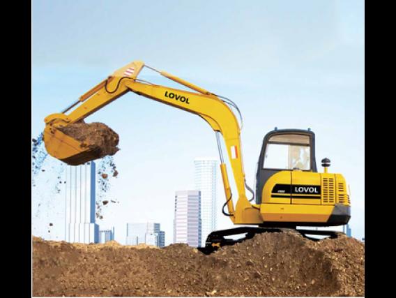 Excavadora Lovol Fr45