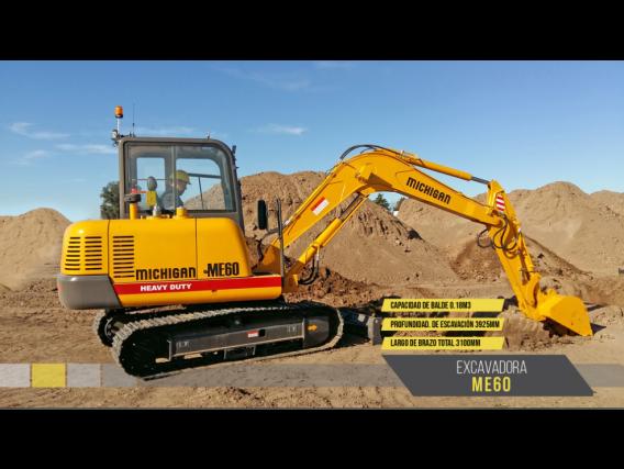Excavadora Michigan Me60