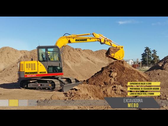 Excavadora Michigan Me80