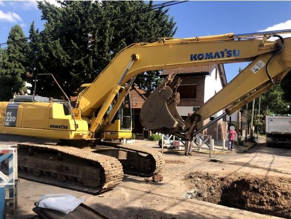 Excavadora Pc220-7