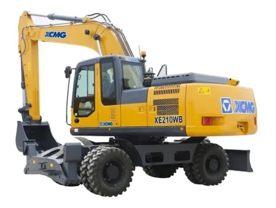 Excavadora Sobre Neumaticos Xcmg Xe210 W B