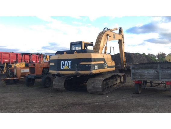 Excavadora Sobre Oruga Cat