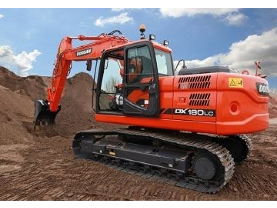 Excavadora Sobre Oruga Doosan Dx180Lc