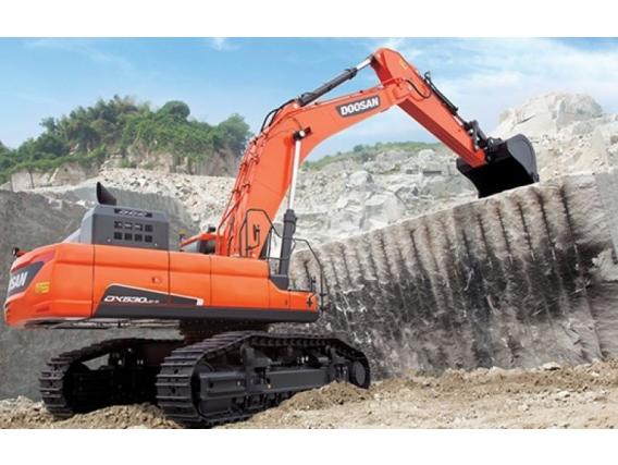 Excavadora Sobre Oruga Doosan Dx530Lc