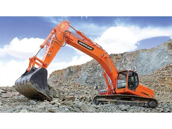 Excavadora Sobre Oruga Doosan Dx340Lca