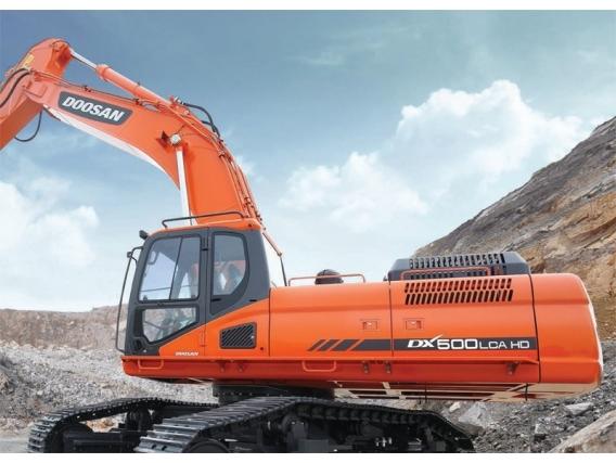 Excavadora Sobre Oruga Doosan Dx500Lca