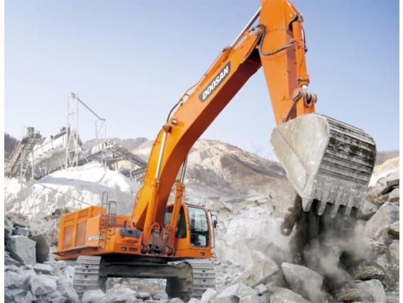 Excavadora Sobre Oruga Doosan Dx700Lc