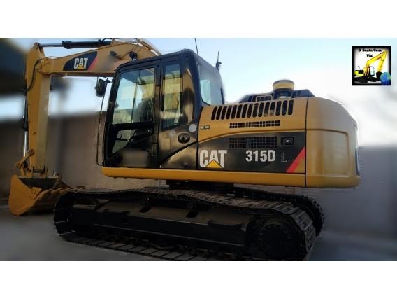 Excavadora Sobre Orugas Caterpillar 315 Dl