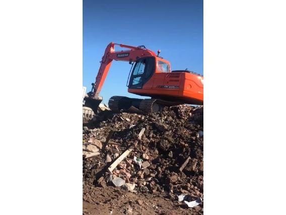 Excavadora Sobre Orugas Doosan Dx 225
