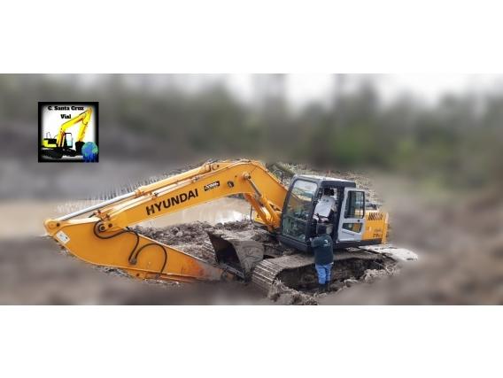 Excavadora Sobre Orugas Hyundai 210